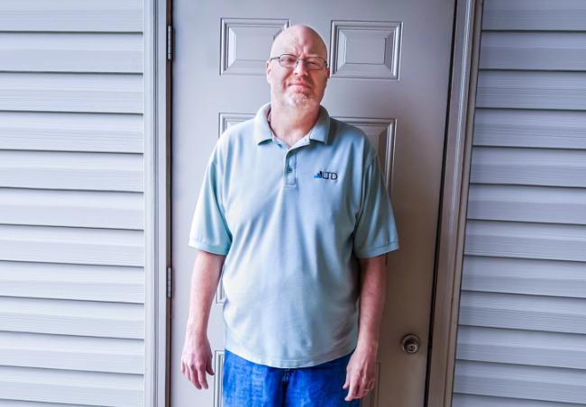 David M. lost 60 lbs. on the HMR weight loss program.