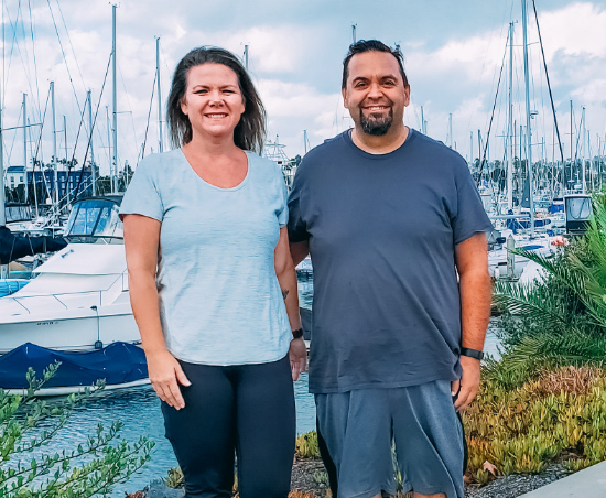 Read about Layna & Tony's 130-lb weight loss transformation on the HMR diet and how their life has changed.