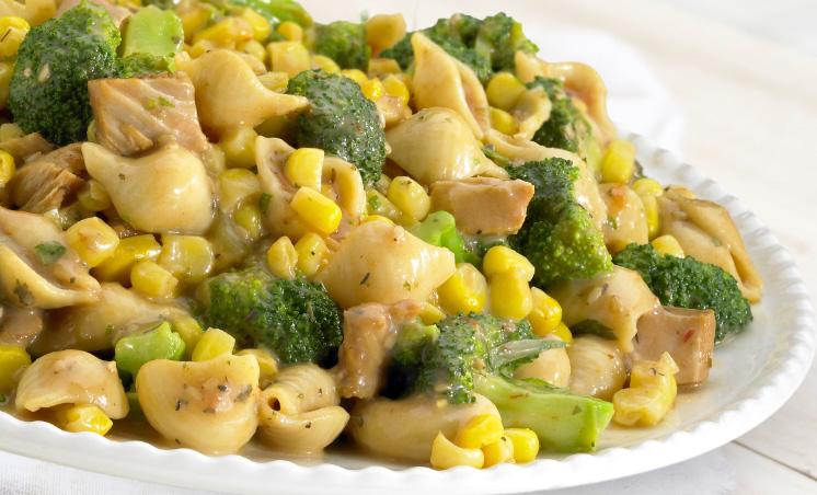 Creamy Pasta Broccoli Bonanza