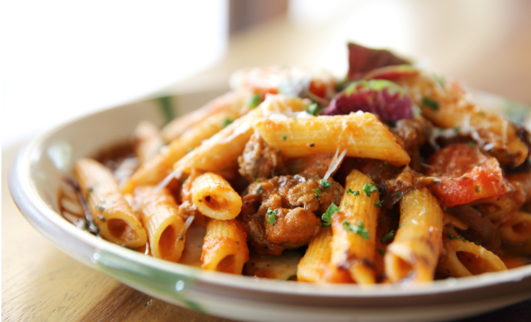Penne Pasta and Zesty Squash