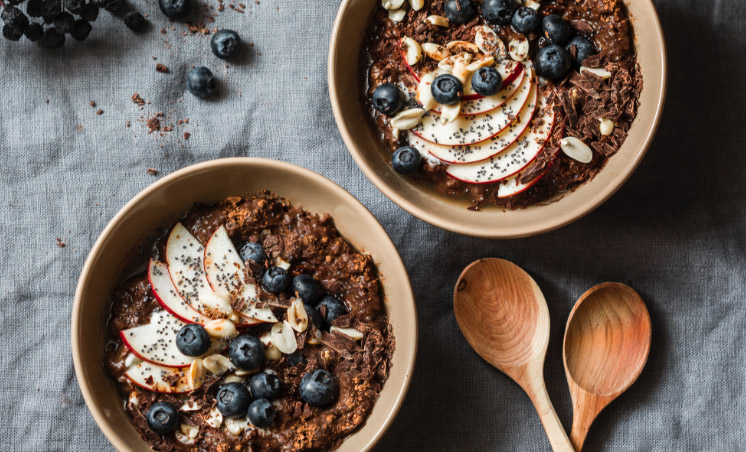 Chocolate Berry Hot Cereal