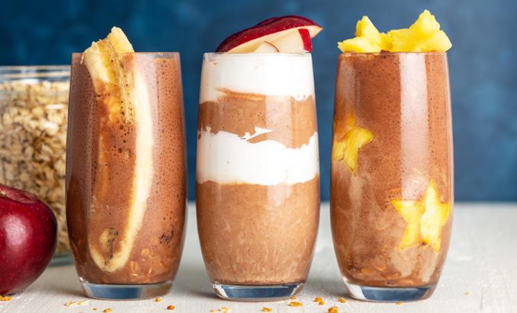Creamy Chocolate Banana Smoothie