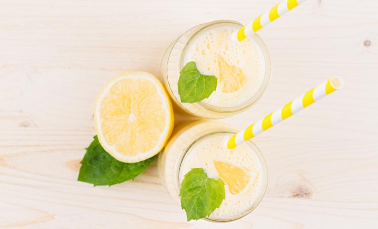 Creamy Lemon Shake