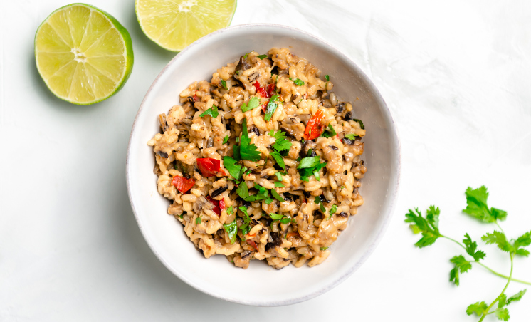Risotto with Cilantro and Lime