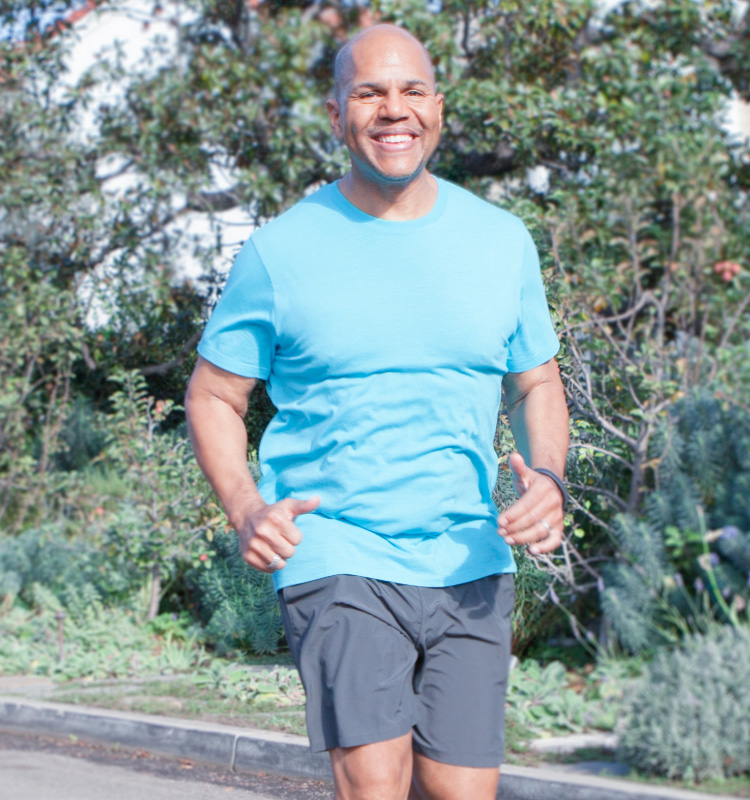 Kevin lost 75 lbs. on the HMR diet and was reenergized by his weight loss.