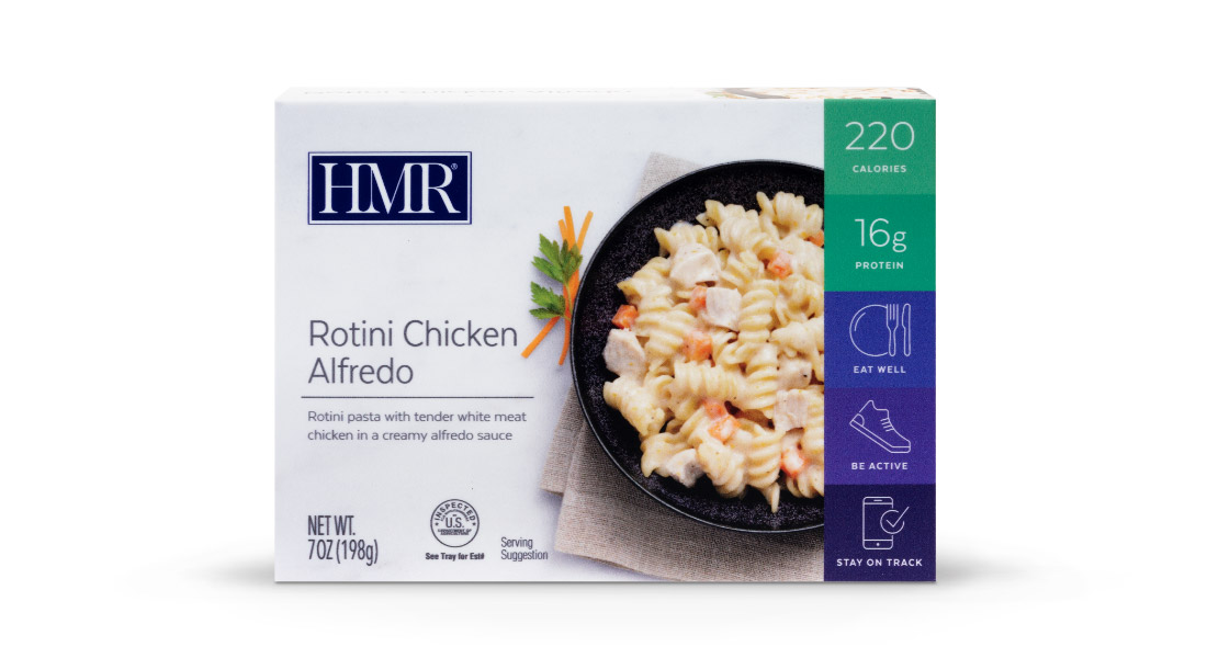 Rotini Chicken Alfredo