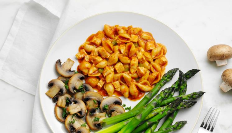 Chicken Pasta Parmesan