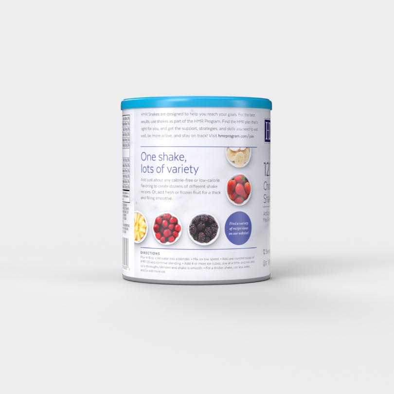 HMR 120 Chocolate Shake Mix, 12 servings