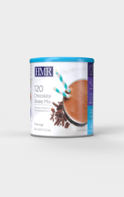 Click to see the front of the HMR 120 Chocolate Shake canister
