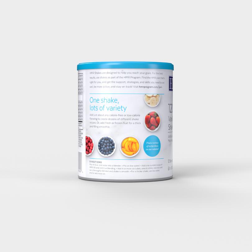 HMR 120 Vanilla Shake Mix, 12 servings