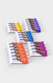 Click to see the assortment of bars in the HMR Bars Variety Pack