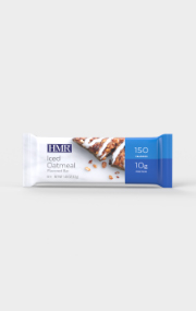 Click to see the front of the HMR Iced Oatmeal flavored bar