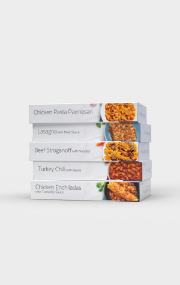 The Top 5 Entree Variety Pack includes 5 best-selling HMR entrees